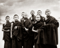 Childrens of Dalai Lama no 1/6 (issue de la collection Thank you India)